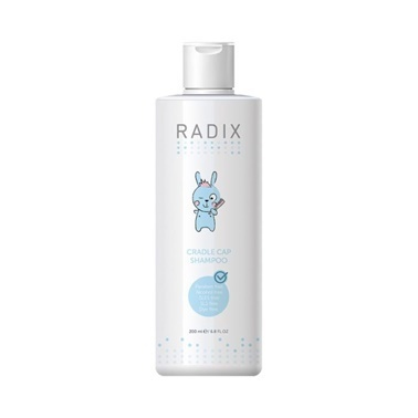 Radix Cradle Cap Shampoo 200ml Renksiz